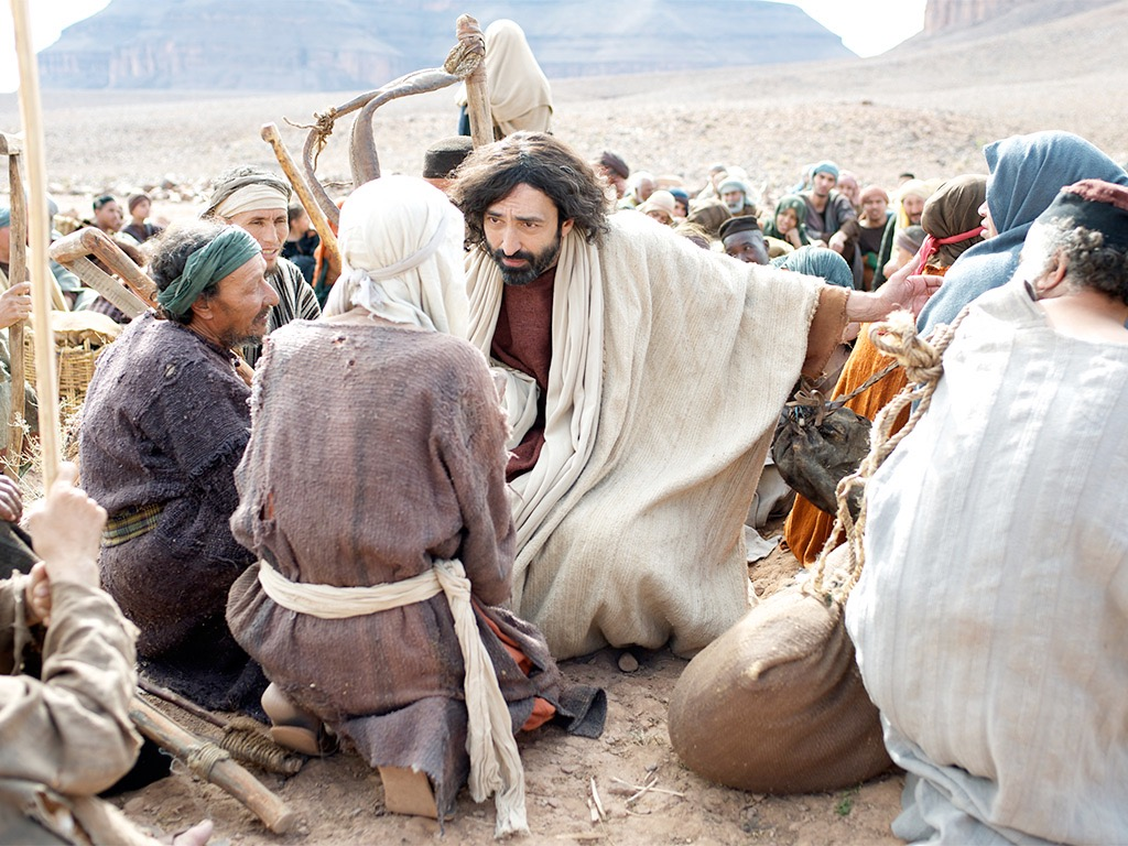 Teaching Jesus Feeds The Multitude Pictures To Pin On