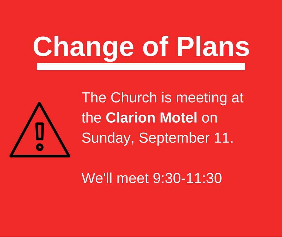 Meeting at Clarion September 11